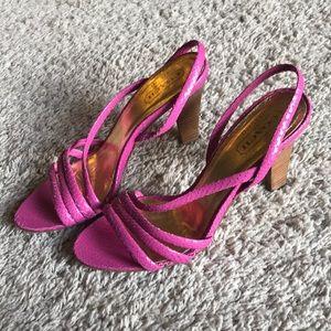 Adorable coach sandals